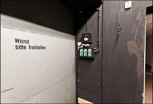 Bühnenhintergrund / Backstage