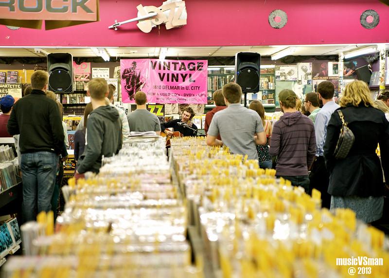 Matt Costa @ Vintage Vinyl