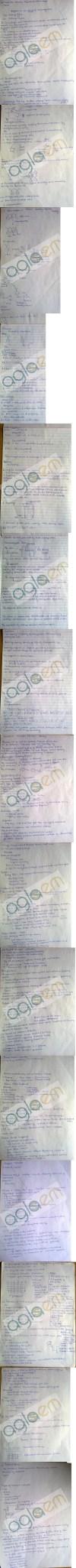 DTU: Notes - 1 Sem AC - Ion Exchange Resins
