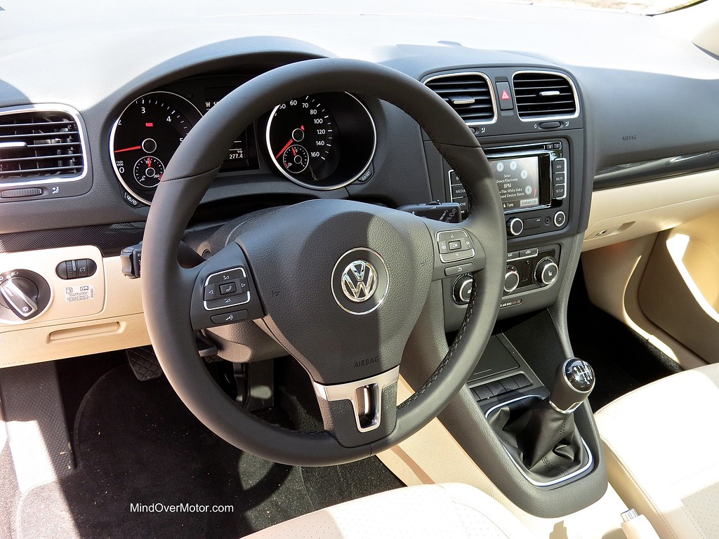2013 VW Jetta Sportwagen TDI Manual