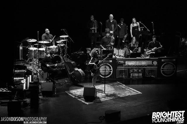 Esperanza Spalding @ the Warner Theatre on 4/22/2013. Photo by Jason Dixson Photography.