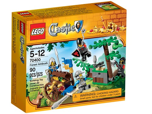 LEGO Castle 2013 70400 Forest Ambush Box