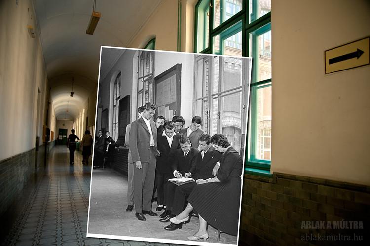 Budapest, XI. Műegyetem rakpart 3-9. Budapesti Műszaki Egyetem fortepan_18686
