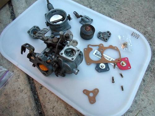 Solex B30 PSEI-6 carburetor taken apart