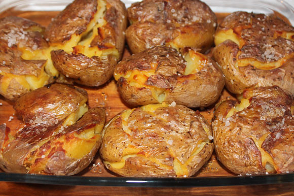 Backkartoffeln auf italienische Art