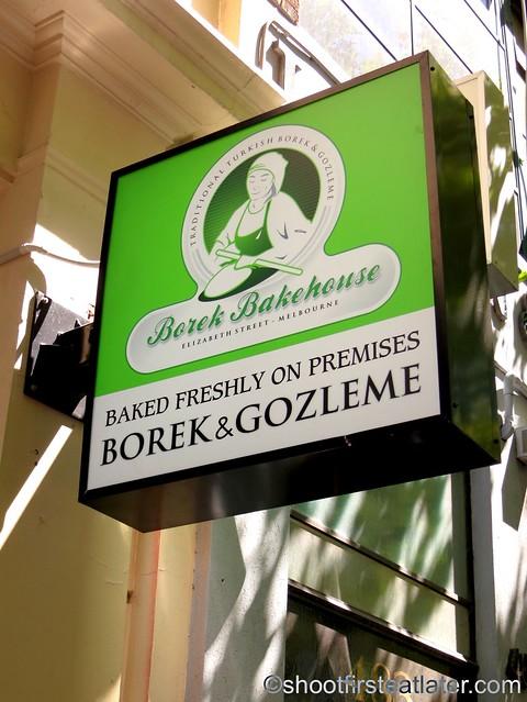 Borek Bakehouse Melbourne