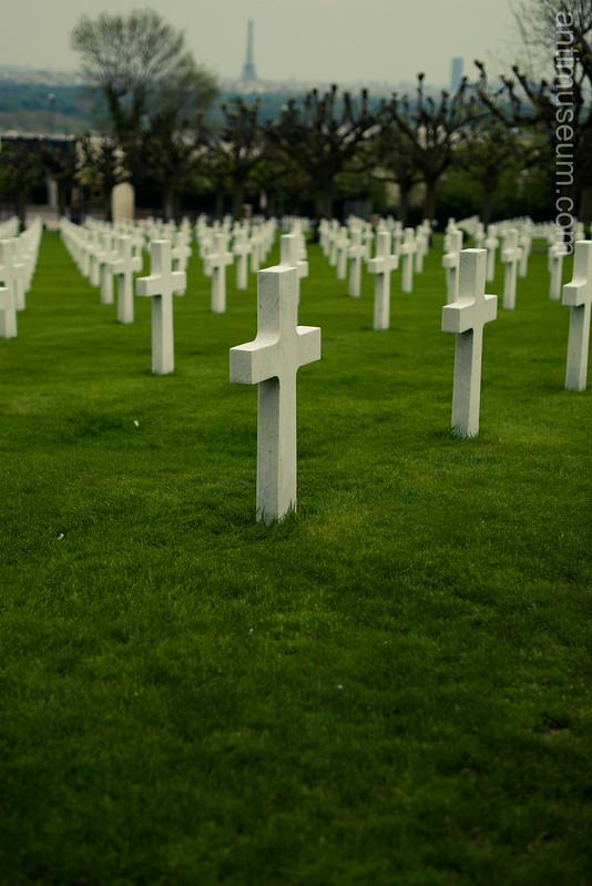 American cemetery - Mont Valérien - Suresnes
