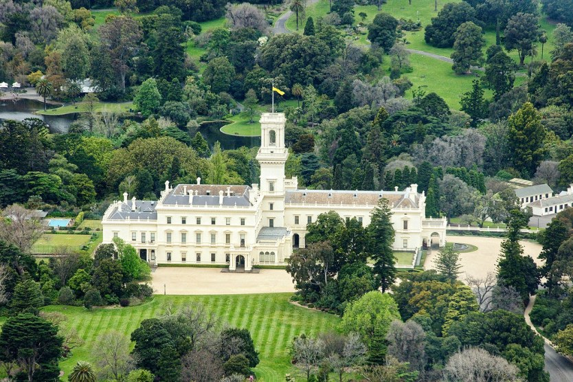 The Government House, Melbourne.