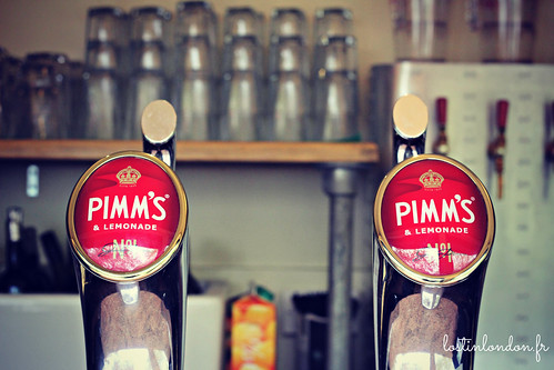 pimm's on draft
