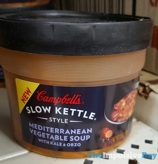 Campbell's Slow Kettle Style Mediterranean Vegetable Soup