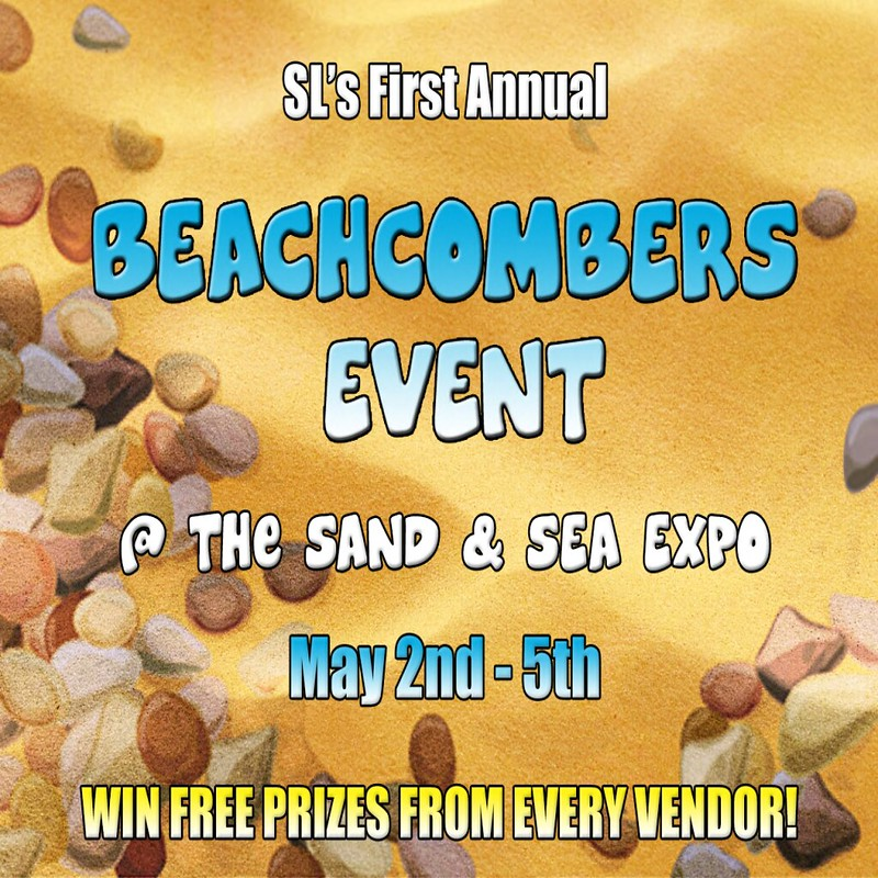 2013 Sand & Sea Expo Beachcomber Event Poster