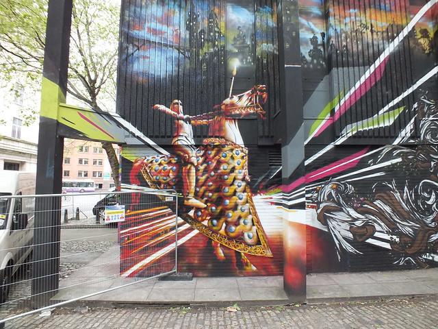 See No Evil Street Art, Bristol - Acerone