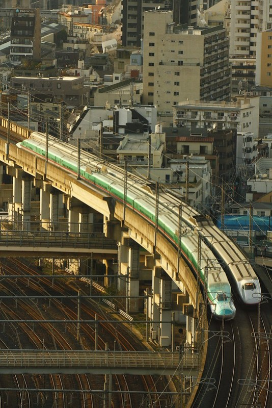 Tohoku Shinkansen Series E5&Hokuriku Shinkansen Series E2