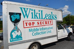 Wikileaks Truck at
