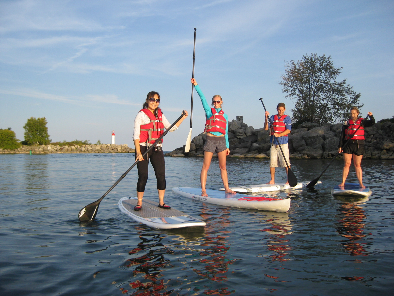 paddleboarding stand up Toronto