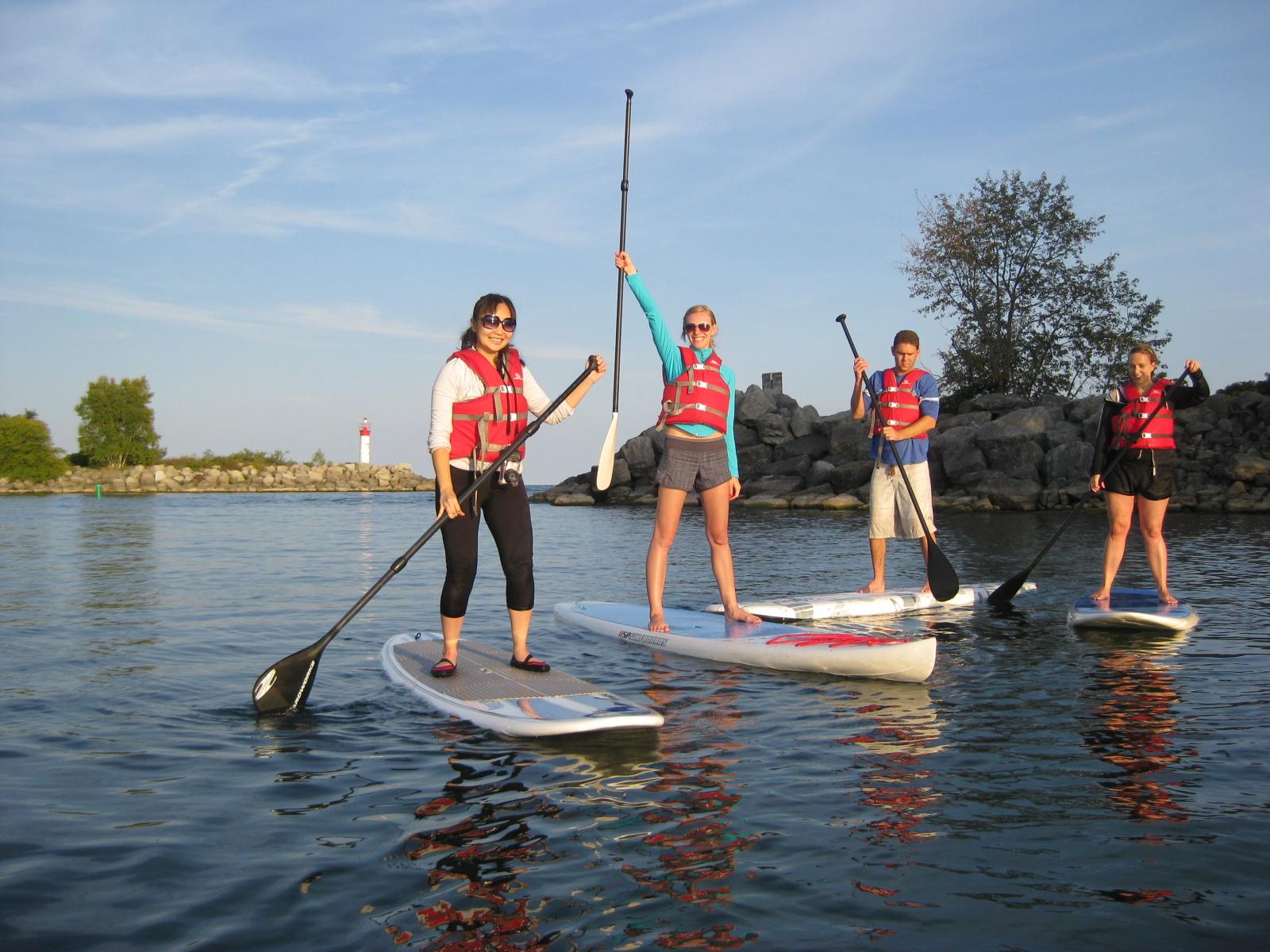 paddleboarding stand up Toronto