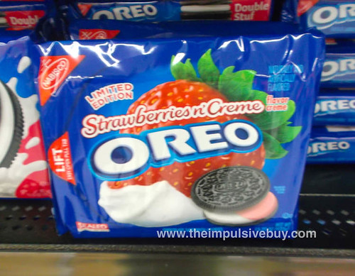 Limited Edition Strawberries 'n Creme Oreo