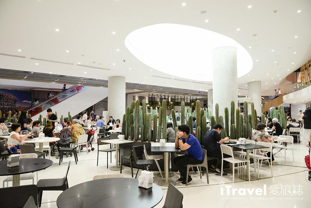 《曼谷美食餐厅》The EmQuartier:街头小吃精致风美食街