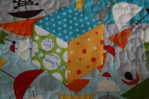 Tumble Block Playmat Quilt