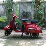 Modern Vespa Vespa 150 Super 66 Red Say Hi From Indonesian Vintage Vespa