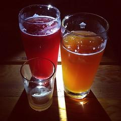 Homemade Sodas, Honeybush; Cucumber Genie; Cran-Marionberry