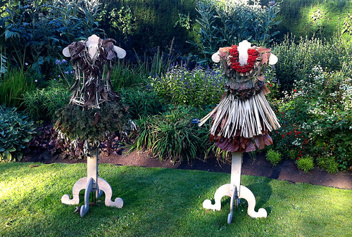 Earth art exhibition at VanDusen Gardens - Nicole Dextras