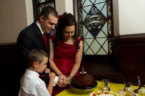 Family Cake Cutting