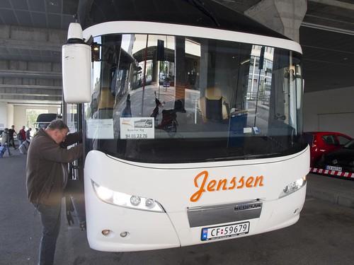 461 Bus para el Tren Oslo-Bergen