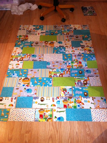 Jungle Bungle Baby Quilt (3/6)