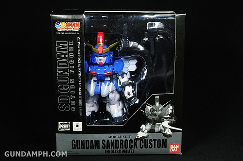 SDGO Sandrock Custom Unboxing & Review - SD Gundam Online Capsule Fighter (1)