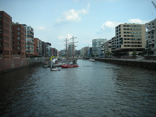 HafenCity in Hamburg's Port