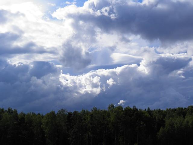 Красивые облака // Beautiful clouds