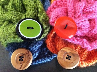 Cup Cozy Buttons