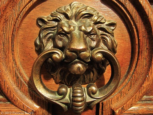 Day 208 Antique Drawer Lion by pixygiggles