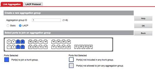 การทำ Link Aggregation บน Managed Switch