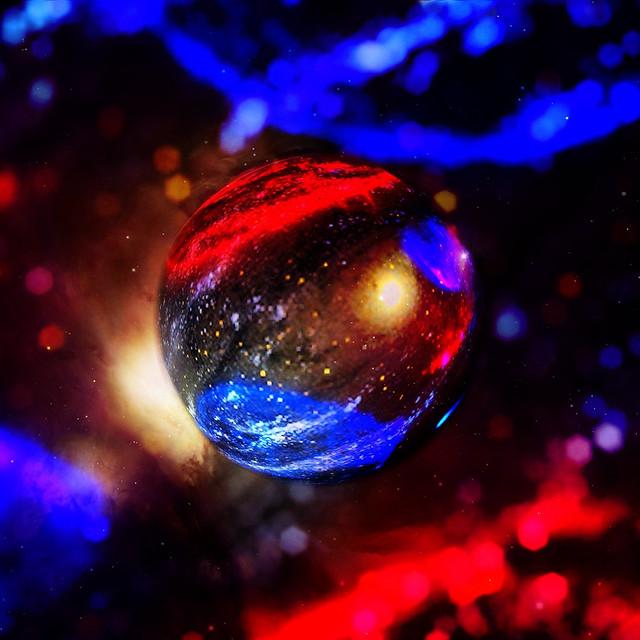 Alien Sky + MarbleCam = Marble Monday