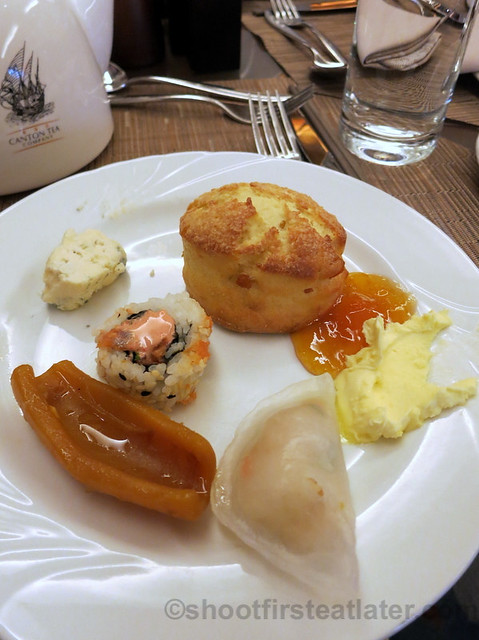 my plates at JW Marriott's The Lounge - Afternoon Tea-001