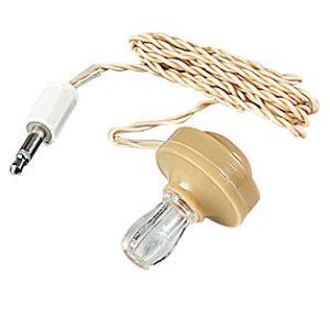 crystal earpiece