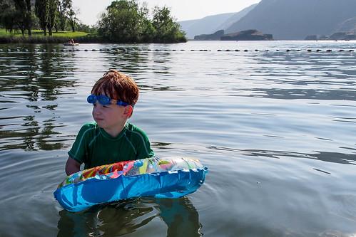 Patrick in Park Lake