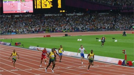 Usain Bolt 200 metros Londres 2012