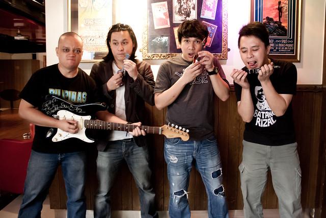 Rivermaya Band Portrait