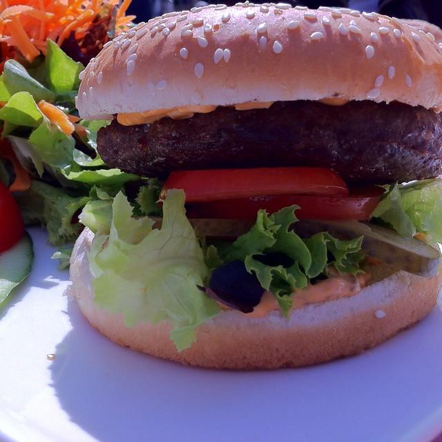 Black Angus Burger @ Wauer's Restaurant