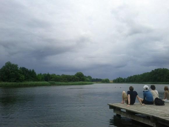 the lake / Dorfsee