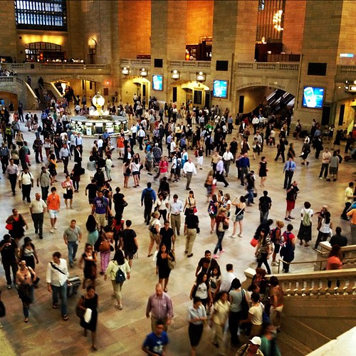 The grand central rush hour!