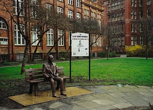 Alan Turing, Sackville Gardens, 2001