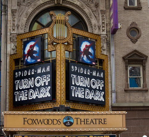 Spiderman: Turn Off the Dark @ Foxwoods Theatre on Broadway