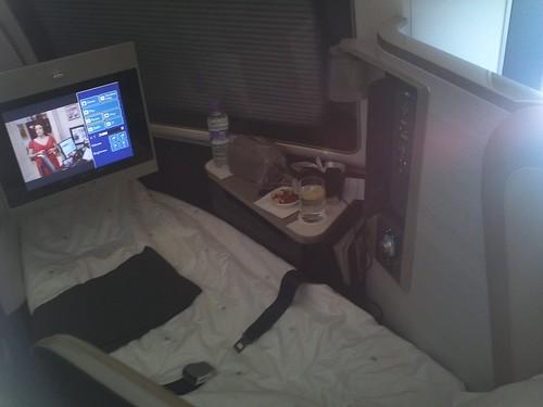 Flight Attendant Made Up My Bed