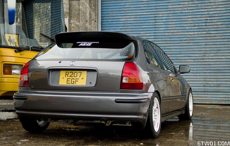 Ek4 rear quater