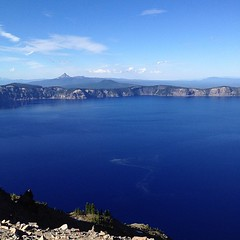 Crater Lake from Garfield Peak at 8054ft