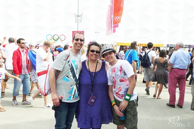 The 3 of us at the Olympics